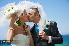 Wedding Photography, Beach Shoot St Ives Bay, Cornwall