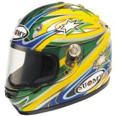 Awesome Troy Bayliss replica from Suomy - http://replicaracehelmets.com/product/suomy-vandal-troy-bayliss-replica-helmet/