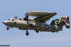 https://flic.kr/p/SY8iET | US NAVY VAW-115 E-2C Hawkeye CAG