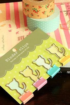 This is really cute clip set.- Weight: 20g- Material: metal- 4 clips as a set - Size: approx. 2cm x …