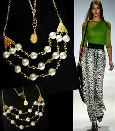 Collar varias vueltas chapa de oro #moda #jlo #mk #moda #jewelry #dg