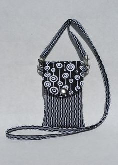 Cell Phone Purse Cross Body Shoulder Bag Fits by mylifeinfabric