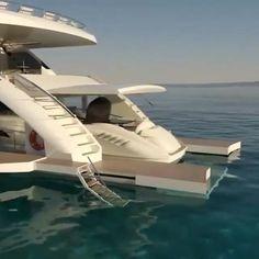 Catamaran, Yatch Boat, Luxury Yacht Interior, Luxury Cars, Super Yachts, Speed Boats, Power Boats, Ski Nautique, Cruiser Boat