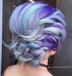 Multi-colored hair