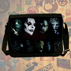 NEW Custom : Slipknot Heavy Metal Messenger School Laptop Bag By Gift Ideas #07