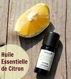 8 façons d'utiliser l'huile essentielle de citron. Par exemple mettre 2 à 3 gouttes dans un verre d'eau à boire le matin (pratique si pas de citron frais sous la main)