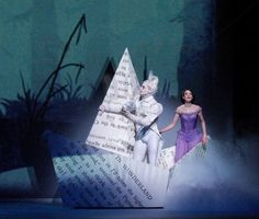 sets for Alice in Wonderland (Royal Ballet)