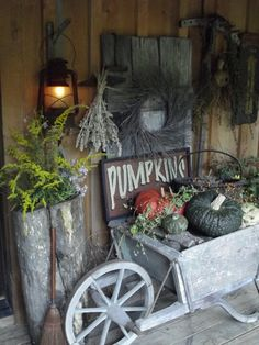 Fall prim decor