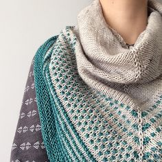 Ravelry: Carrigain Shawl pattern by Ana Campos Knit Cowl, Crochet Shawl, Knit Crochet, Knit Shawls, Knit Scarves, Scarfs, Shawl Patterns, Knitting Patterns, Knitting Ideas