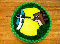 Regular Show Email me for cakes!  Belongstomord@gmail.com Frisco tx
