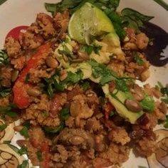 Cauliflower Rice and Beans Fajita Bowls - Allrecipes.com