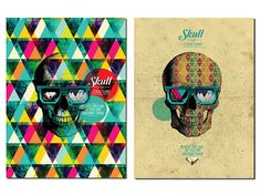 Credeal  Skull is Coolture // Design Art Collection   by João Francisco Hack, via Behance
