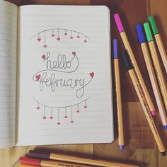 Bullet journal hello february follow me https://www.youtube.com/channel/UCaVi1zC_yD5osZIAlMWm2-g
