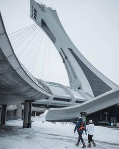 Parc olympique - #Montreal Montreal Quebec, Montreal Canada, Quebec City, Olympic Stadium Montreal, City That Never Sleeps, Cities, Adventure, Instagram, Places