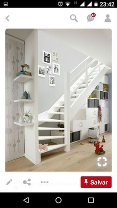 Basement Stairs With Wall
