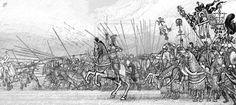 Byzantine army charge. by Simulyaton on DeviantArt