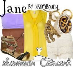 summer concert | Disney Bound  Jane