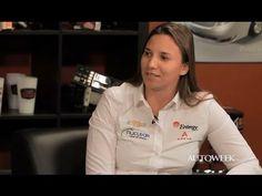 IndyCar driver Simona de Silvestro - exclusive interview video