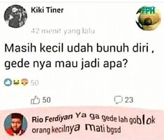 nah gitu ngegas :v Twitter Quotes Funny, Funny Quotes For Teens, Tweet Quotes, Funny Tweets, Quotes For Kids, Mood Quotes, Life Quotes, Minions Quotes, Jokes Quotes