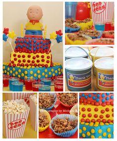 Caillou Birthday party ideas