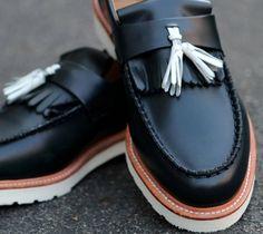 dr. martens barrett tassel loafers... be mine...