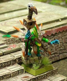 Lustria Online • View topic - Neveroddoreven's New Lizardmen Warhammer Figures, Warhammer Fantasy, Lizardmen Warhammer, Orks 40k, Blood Bowl, Fantasy Miniatures, Love Painting, Painting Techniques, Character Design