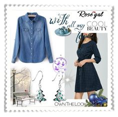 """""""Rosegal 46/ II"""" by mery66 on Polyvore featuring Mode und rosegal"""