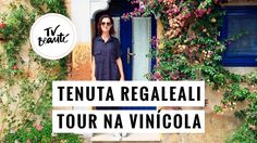 Tenuta Regaleali - Tour na vinícola - TV Beauté | Vic Ceridono