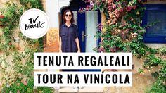 Tenuta Regaleali - Tour na vinícola - TV Beauté   Vic Ceridono