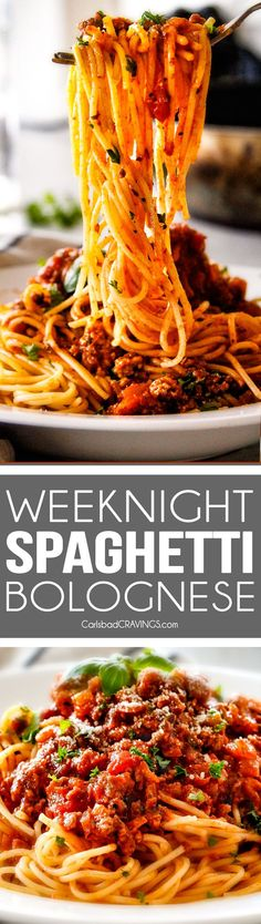 Low Carb Recipes To The Prism Weight Reduction Program Quick And Easy Weeknight Spaghetti Bolognese Bursting With Flavor On Your Table In Under 30 Minutes But Tastes Like Its Been Simmering All Day We Make This Recipe More Than Any Other Recipe Pasta Recipes, Beef Recipes, Dinner Recipes, Cooking Recipes, Healthy Recipes, Recipe Pasta, Recipe Recipe, Recipies, Italian Dishes