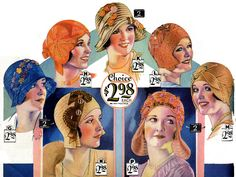 >Smart! Colorful! New! Hats from 1930 | Wearing History® Blog