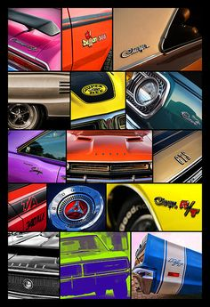 Dodge Collage No. 1 - by Gordon Dean II