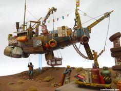 Industria Mechanika | Original GK Design Resource_Chris Babes 'Big Paul' - [Ian McQue's 'Remora']