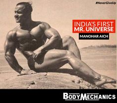 100 Years And Counting! #ManoharAich, India's First Mr. Universe, Still Hits The Gym. Indian bodybuilder Manohar Aich, who is better known as Pocket Hercules for his 4 feet 11 inches height, became the first Indian to win the Mr. Universe title in 1952. He also won three gold medals in Asian Games' body building.