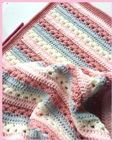 Free crochet pattern for baby blankets for beginners 2019 - crafts - - # . Free crochet pattern for baby blankets for beginners 2019 - crafts - - # Häkelanleitung Crochet Baby Blanket Free Pattern, Crochet For Beginners Blanket, Knitting For Beginners, Easy Knitting, Free Crochet Patterns For Beginners, Beginner Crochet, Baby Boy Knitting Patterns Free, Knitting Ideas, Motifs Afghans
