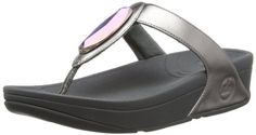 FitFlop Women's Chada Leather Flip Flop