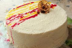 СЛАДКОЕЖКА - Торт лимон-малина.