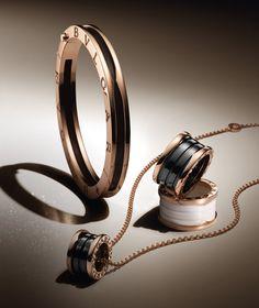 Bvlgari engagement ring & necklace