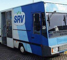 SRV- wagen; rijdende supermarkt