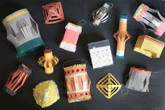 Paper Lanterns DIY | Oh Happy Day!