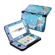 Nintendo 3DS XL Skin - Queen of Ice and Snow by Frozen | DecalGirl