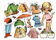 muñecas recortables, paper dolls, Бумажные куклы , bambole da carta, poupées en papier, 纸娃娃 ,: 1- MIS FAVORITAS Y COLECCION…