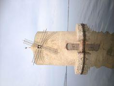 Mulino in laguna di Orbetello