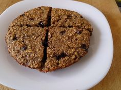 Suzanne's Kitchen : Giant banana chocolate chip breakfast cookie