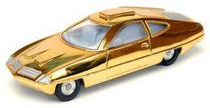 Dinky - UFO - Ed Straker's car - variant wheels