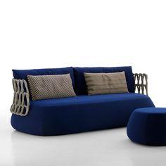 Round sofa / contemporary / garden / synthetic fiber FAT B&B Italia                                                                                                                                                                                 More