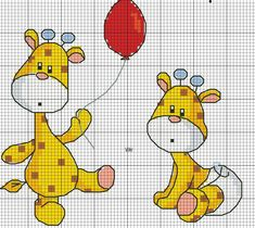 ideas for embroidery stitches baby punto croce Baby Cross Stitch Patterns, Cross Stitch For Kids, Cross Stitch Cards, Cute Cross Stitch, Cross Stitch Animals, Modern Cross Stitch, Counted Cross Stitch Patterns, Cross Stitch Designs, Cross Stitching