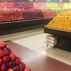 Esta hermosa exhibición de manzanas y naranjas. | 24 fotos tan extrañamente satisfactorias que las odiarás