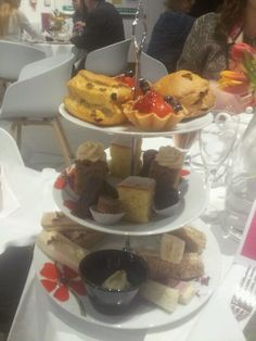 Delicious Afternoon Tea service @TheWilsonChelt by @fosterscatering