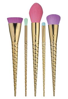 Tarte will be releasing makeup brushes that look like they came straight out of a fairytale, and we are in LOVE.